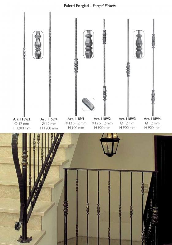 Балясины Коса - Балясины для лестниц Коса (косичка) из
