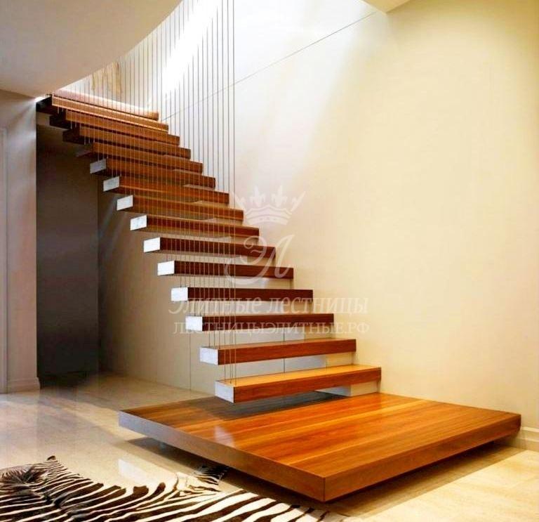 консольная лестница фото